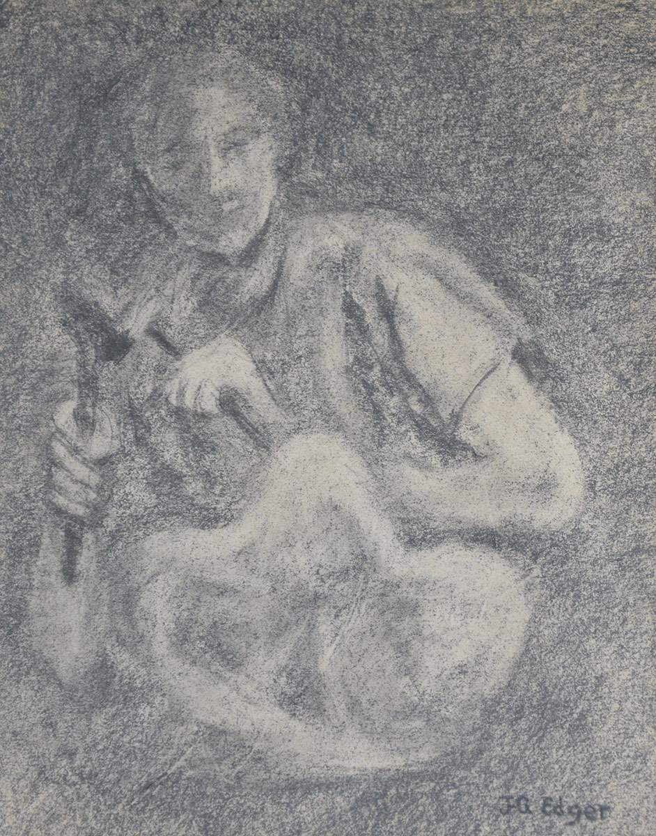 SculptriceGraphite 7 1/2'' x 9 1/2''