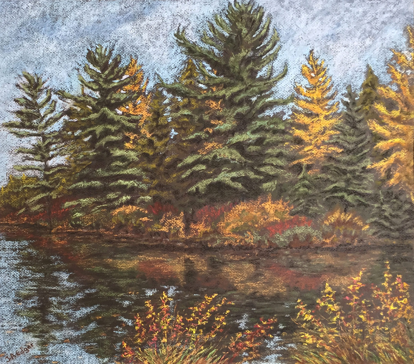 Baie d'automne
