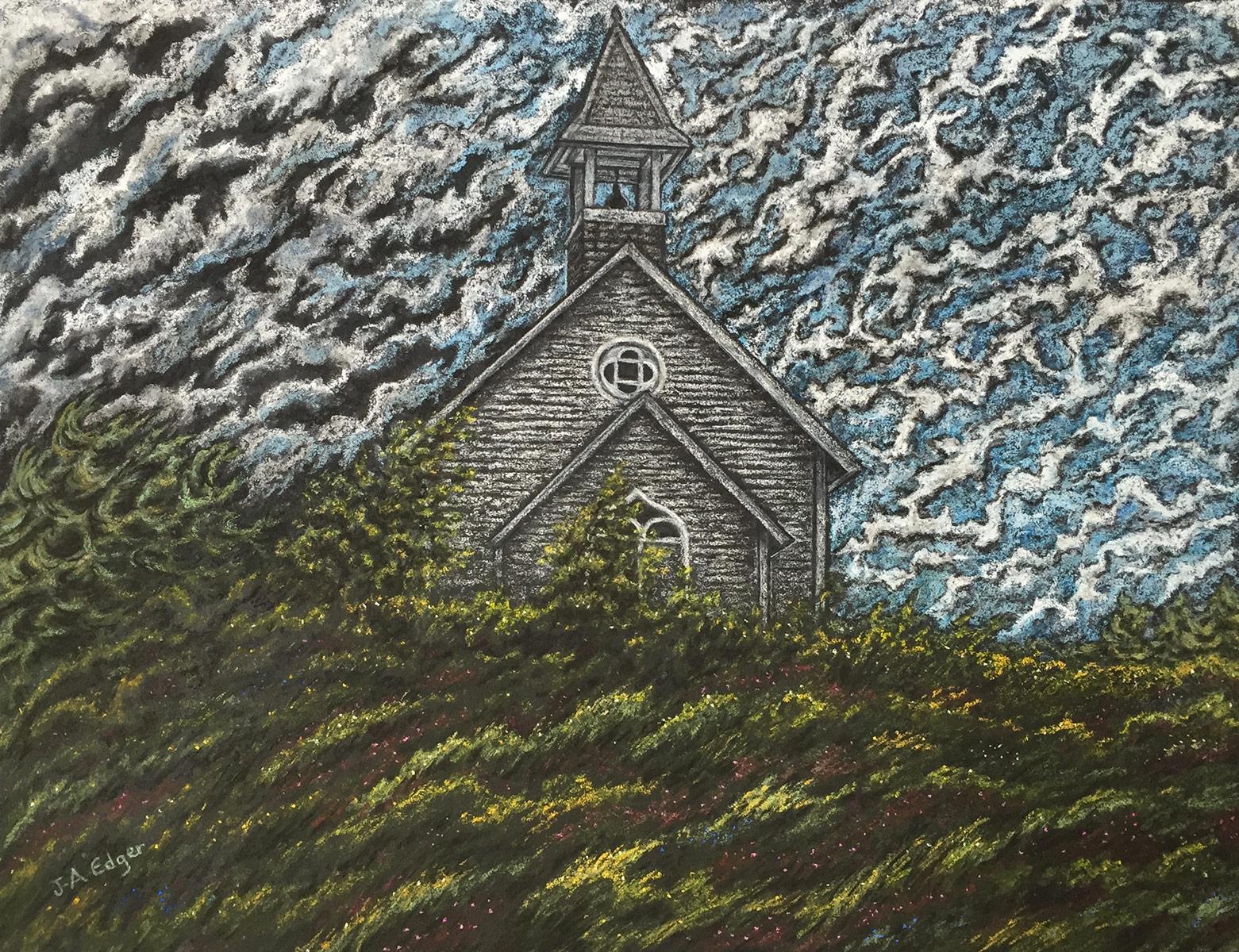 La chapelle sur la butte