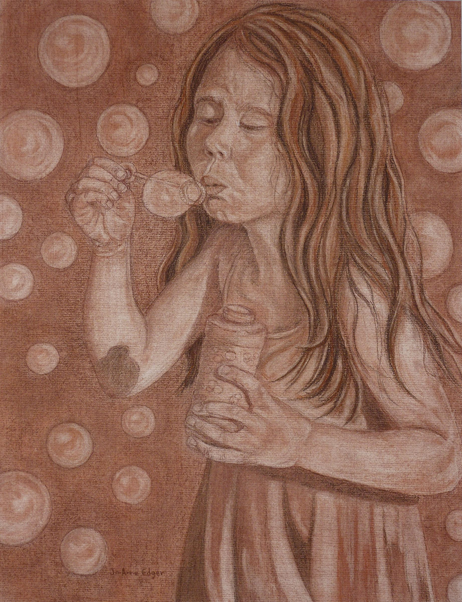 Marie et les  bulles