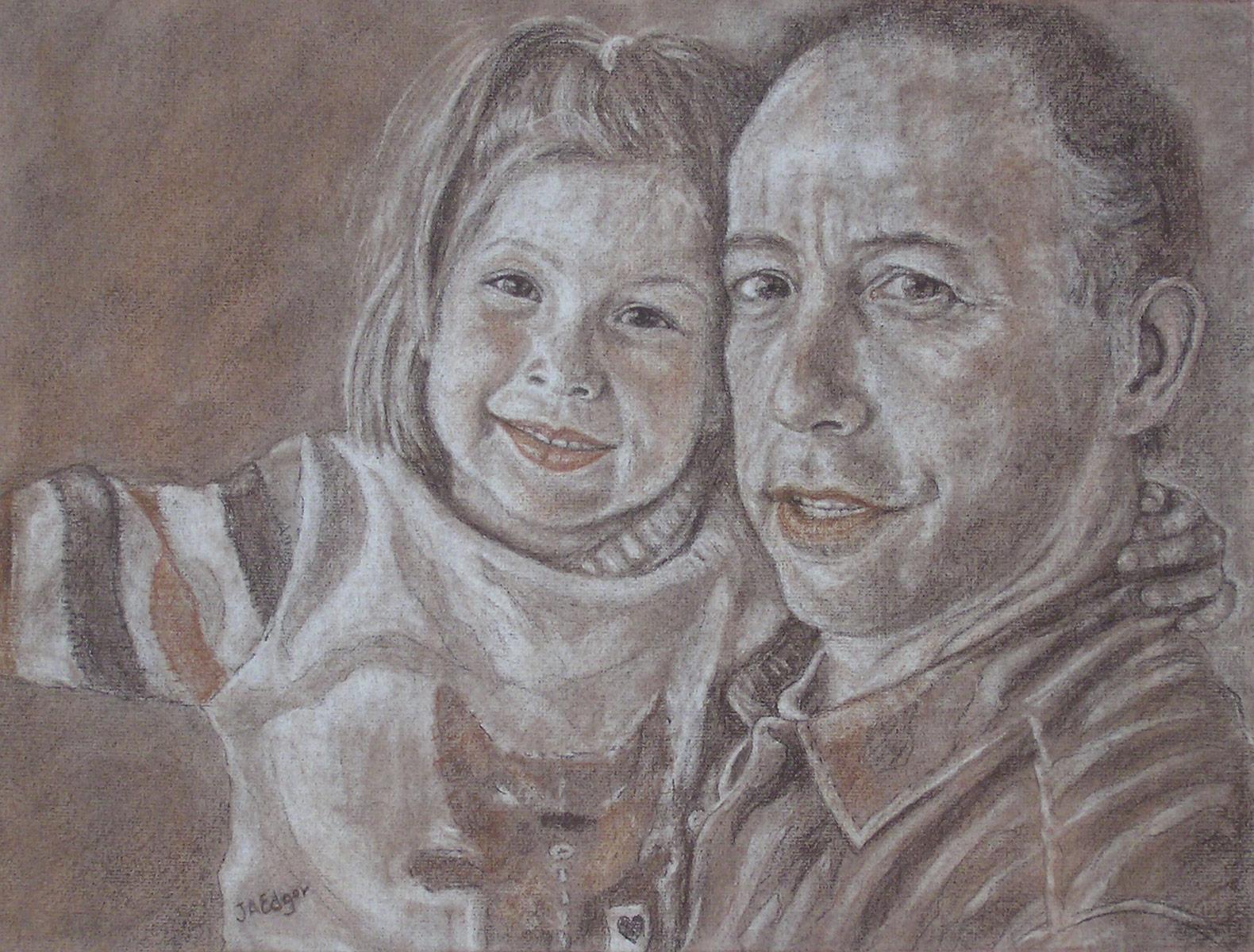 Mia et papa